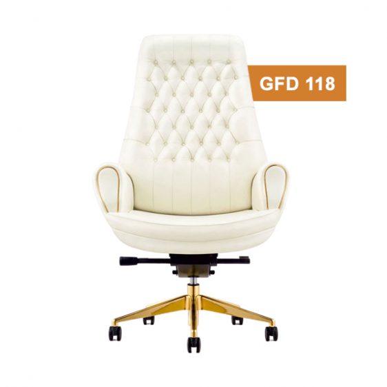 White Boss Chair