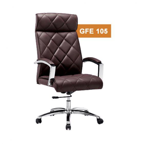 Brown High Back Chair