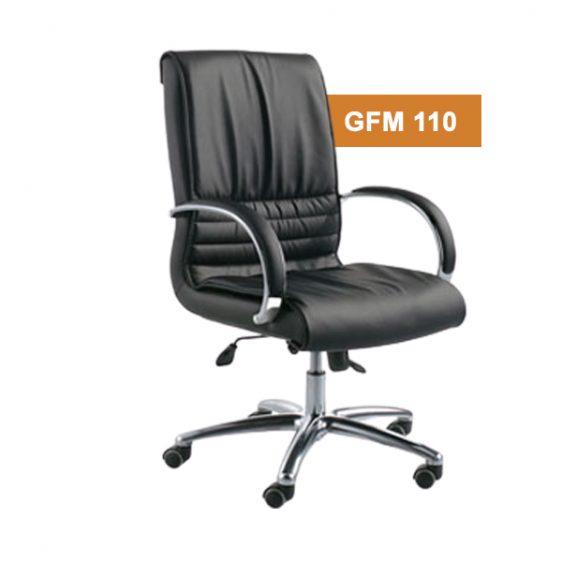 Black Medium Back Chair