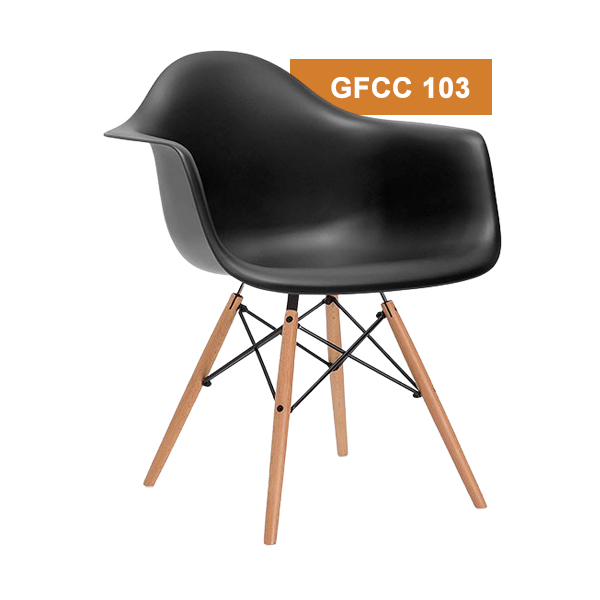 Black Cafeteria Chair