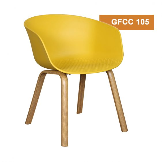 Yellow Cafeteria Chair