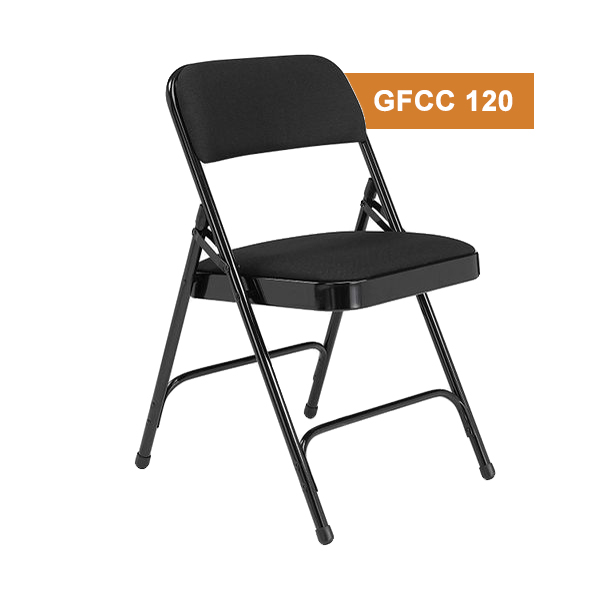 Black Folding Cafe Chair