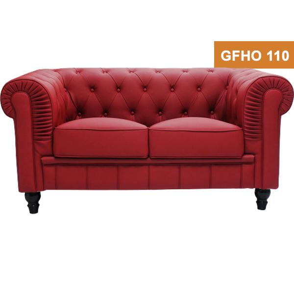Red Color Designer sofa