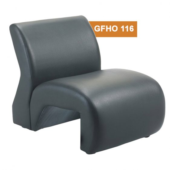 Grey Single Seater Sofa