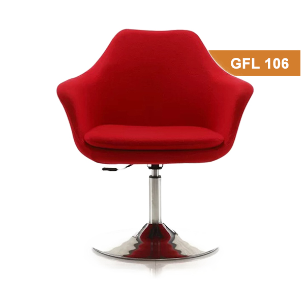 Red Lounge Chair in Ahmedbad