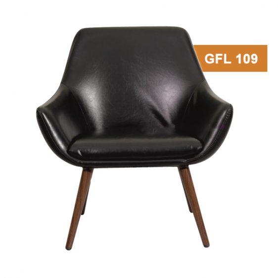 Black Stylish Lounge Chair