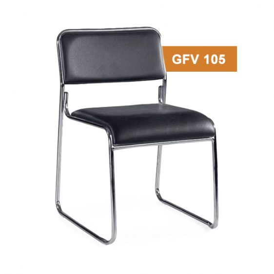 Black Visitor Fix Chair