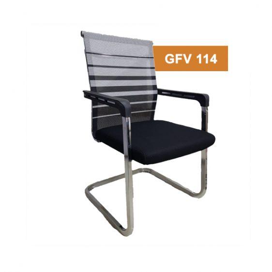 White Stripe Chair
