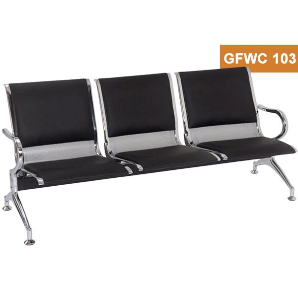 3 Seater Cushion Waiting Chair